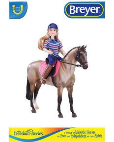 Breyer Girls' English Horse & Rider, No Color, hi-res