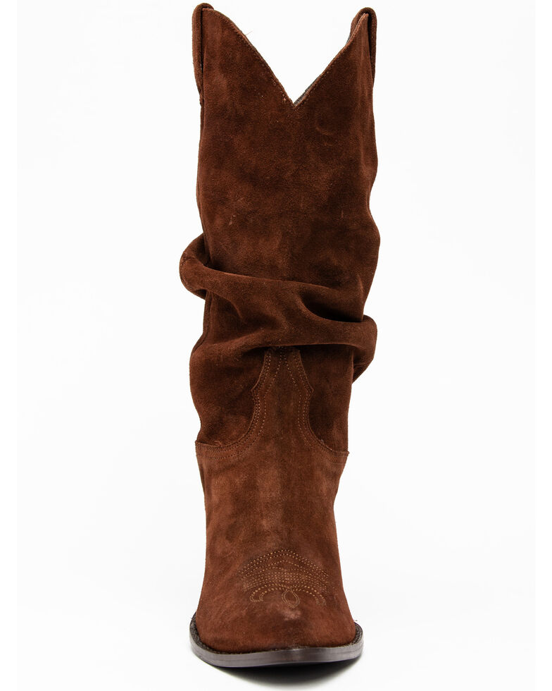 Idyllwind Women's Crush Western Boots - Pointed Toe, Brown, hi-res