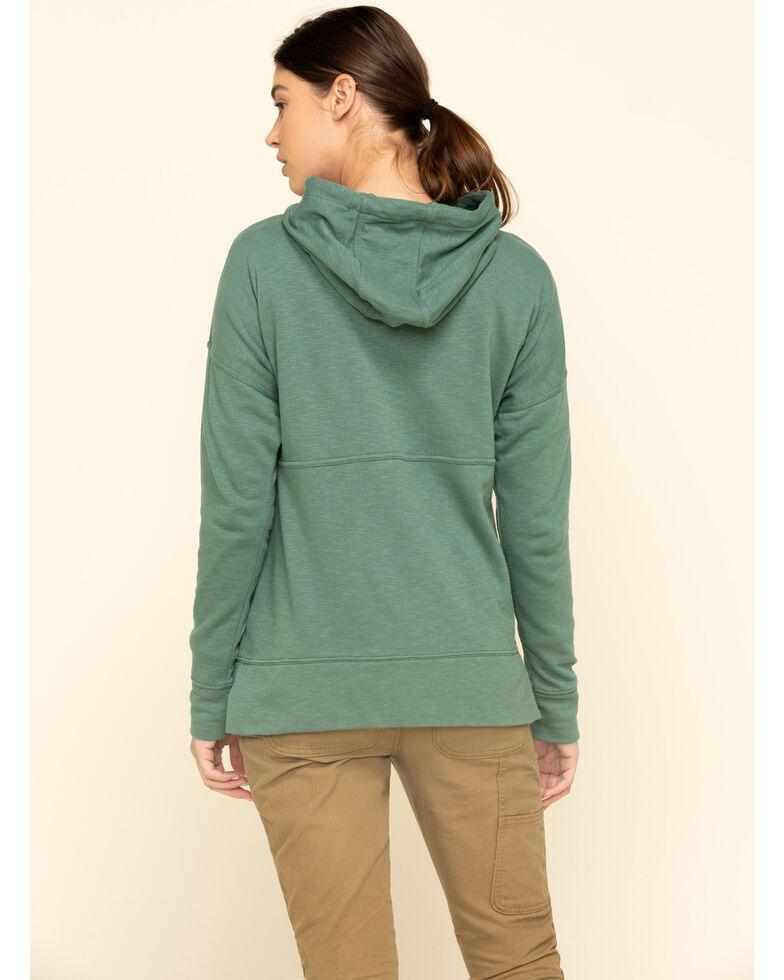 Carhartt Women's Musk Green Newberry Hoodie , Green, hi-res