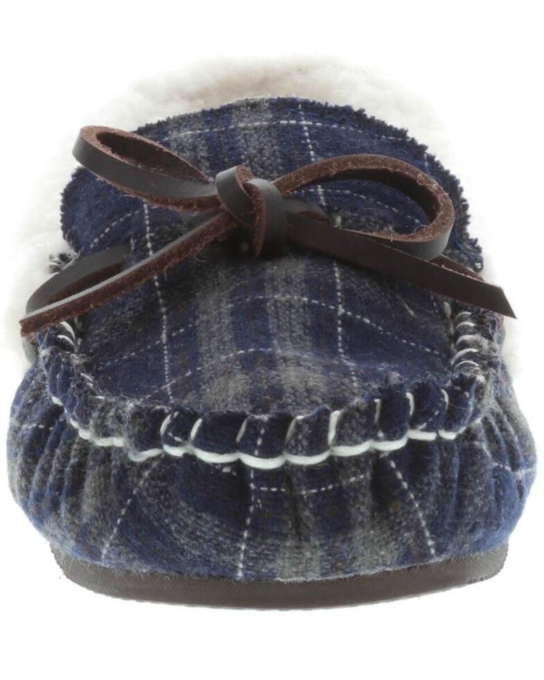 Lamo Footwear Women's Jingle Navy Slippers - Moc Toe, Navy, hi-res