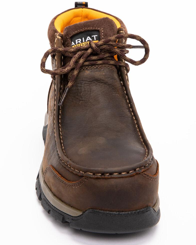 c07d7f60b65 Ariat Men's Brown Waterproof Edge LTE Moc Boots - Composite Toe