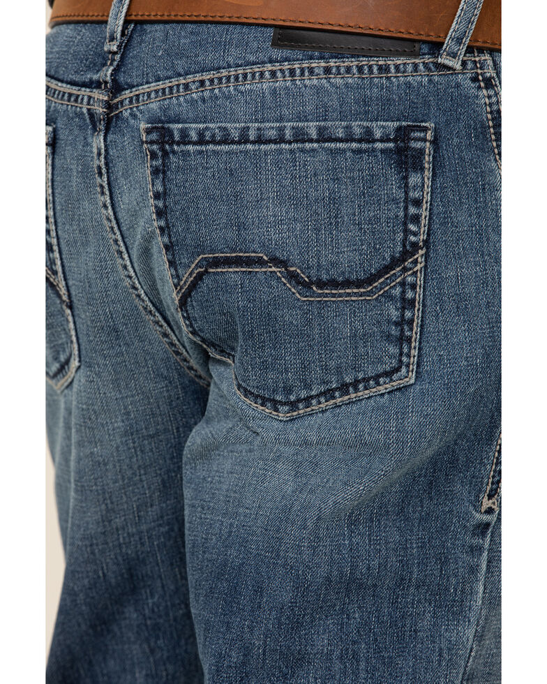 Ariat Men's M4 Branson Light Stackable Relaxed Straight Jeans , Blue, hi-res