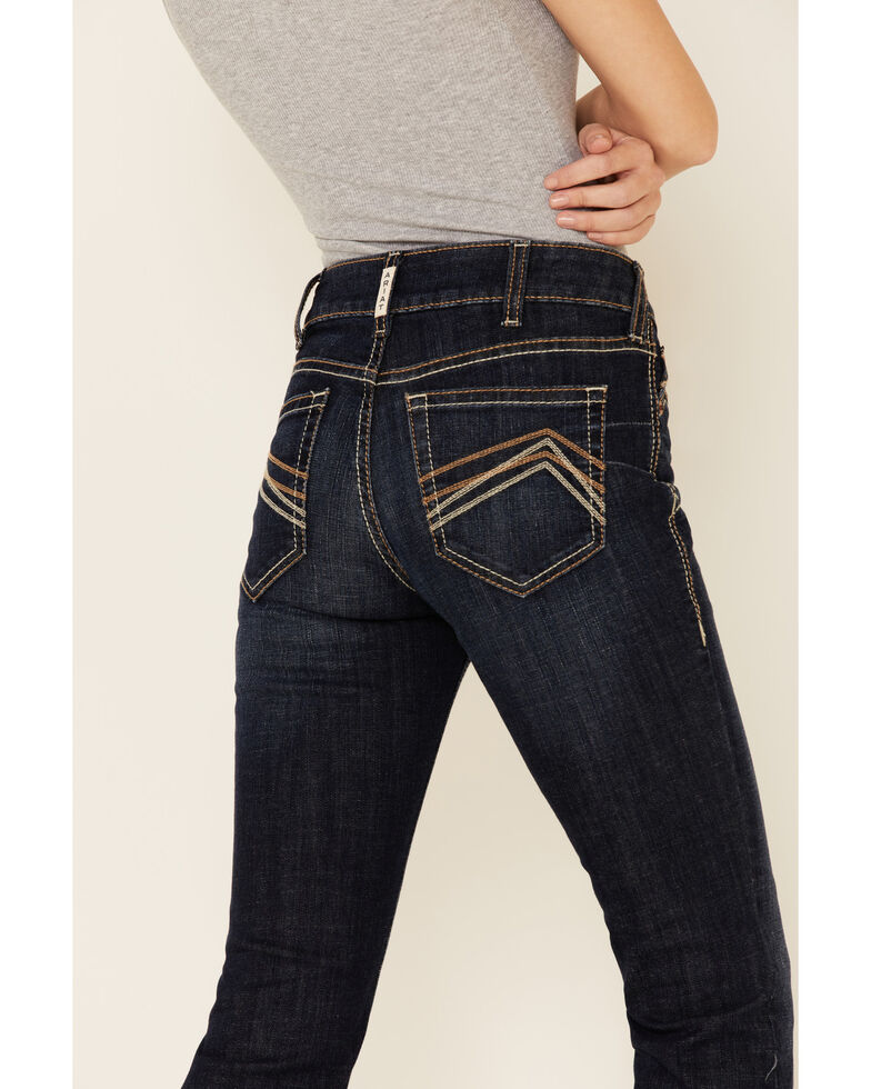 Ariat Women's Kimberly Bootcut Jeans, Blue, hi-res