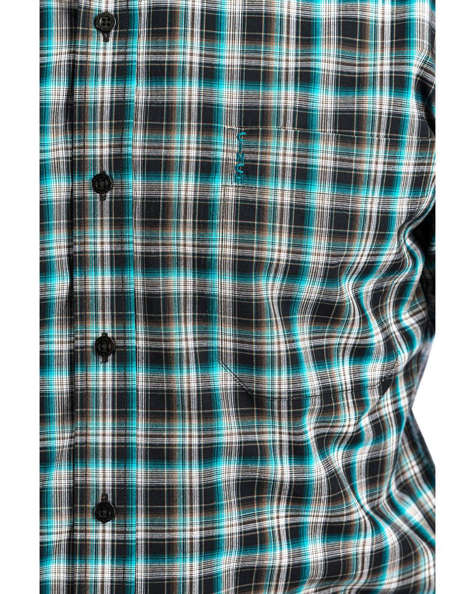 Cinch Men's Multi Modern Plaid Long Sleeve Western Shirt , Multi, hi-res