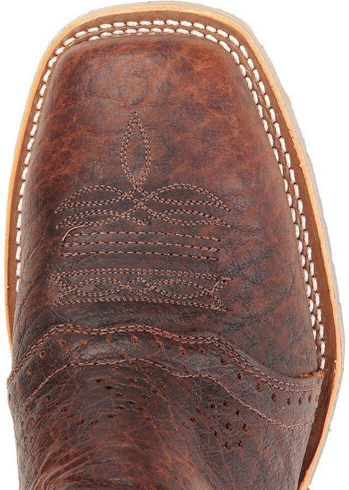 Double H Ice Oak Saddle Work Boots - Steel Toe, Bison, hi-res