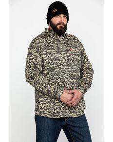 Ariat Men's FR Patriot Camo Long Sleeve Work Shirt - Tall , Camouflage, hi-res