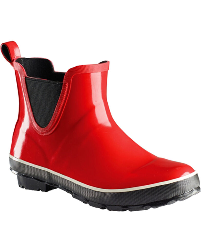 Baffin Women's Marsh Series Pond Mid Boots - Round Toe, Red, hi-res