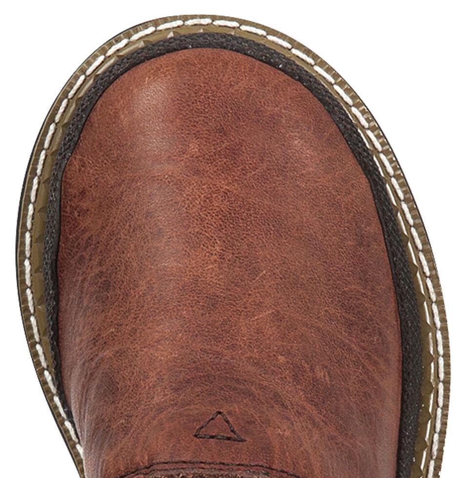 Georgia Toddler Boys' Leather Romeo Shoes, Brown, hi-res