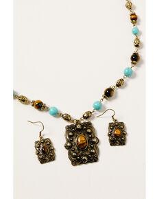 Shyanne Women's Golden Dreamcatcher Pendant Bead Set, Gold, hi-res