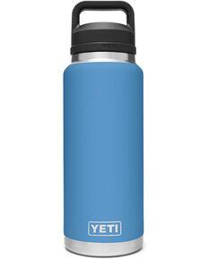 Yeti Rambler 36oz Pacific Blue Chug Bottle, Blue, hi-res