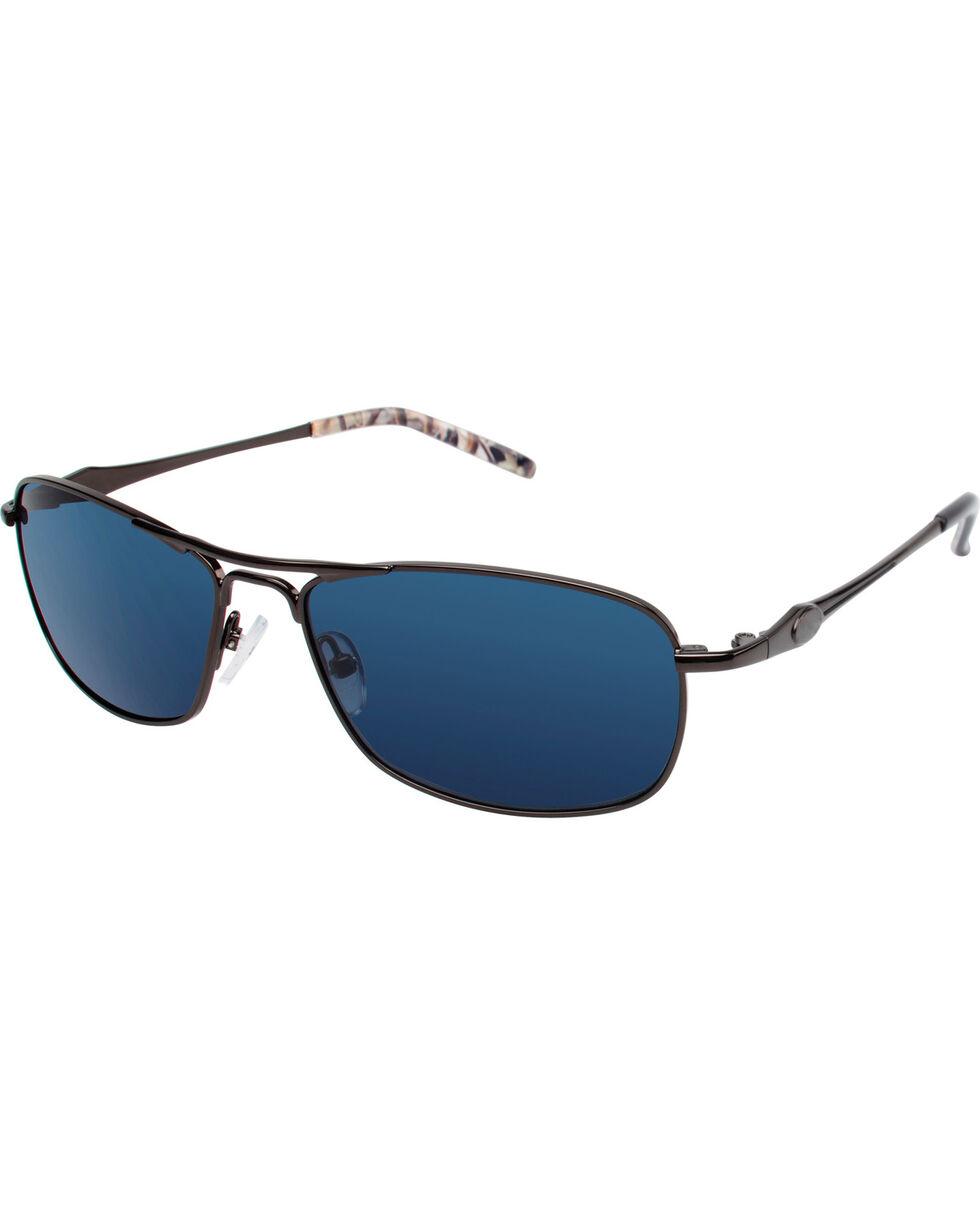 Realtree Men's Black and Xtra® Camo Navigator Polarized Sunglasses , Black, hi-res