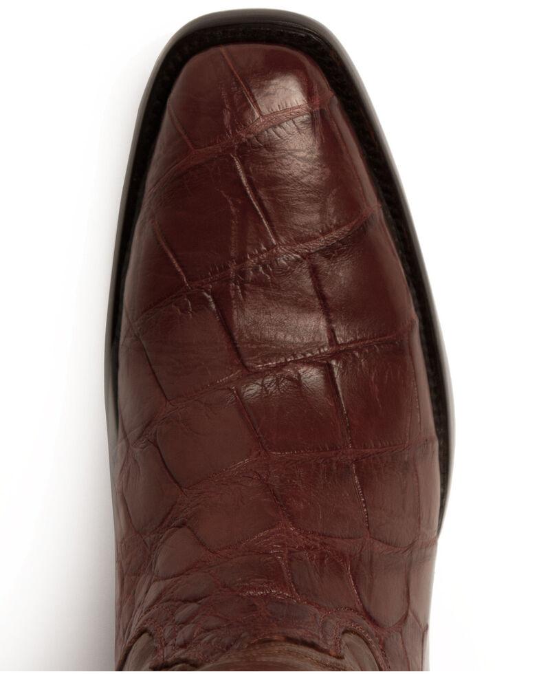 Ferrini Men's Stallion Western Boots - Narrow Square Toe, Cognac, hi-res