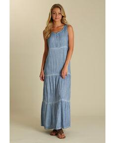 Wrangler Women's Indigo Sleeveless Dress , Indigo, hi-res