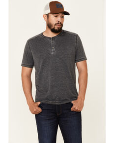 Flag & Anthem Men's Springdale Bo Henley Short Sleeve T-Shirt , Charcoal, hi-res