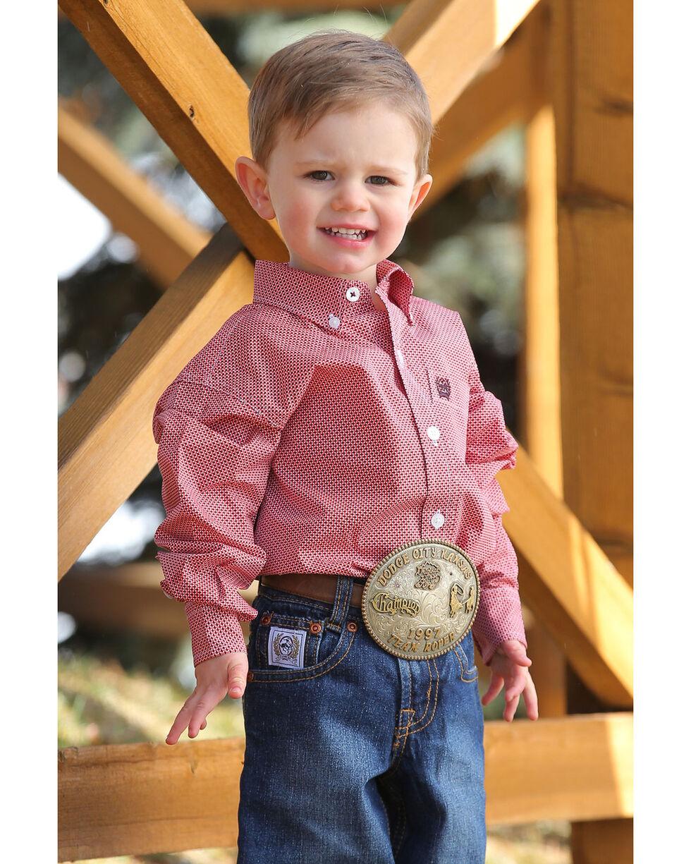 Cinch Infant Boys' Geo Print Long Sleeve Western Shirt , Multi, hi-res