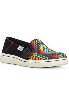 Ariat Women's Ryder Rainbow Aztec Slip-On Shoes, Multi, hi-res