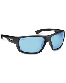 Hobie Mojo Float Satin Black / Cobalt Polarized Sunglasses , Black, hi-res