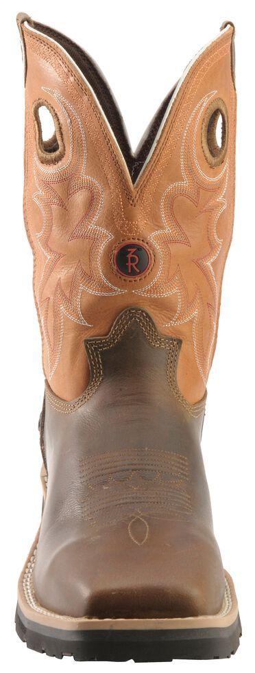 Tony Lama 3R Comanche Work Boots - Composite Toe, Brown, hi-res