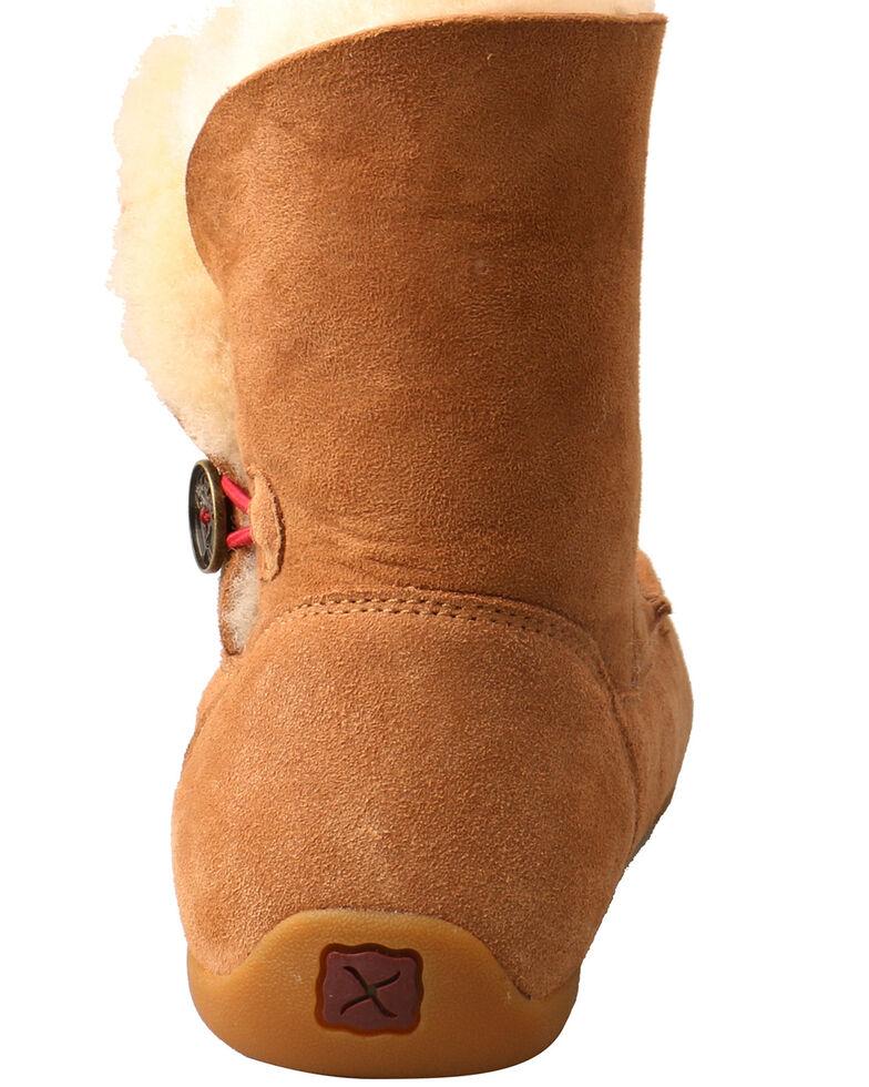 Twisted X Women's Tan Slipper Boots - Moc Toe, Tan, hi-res