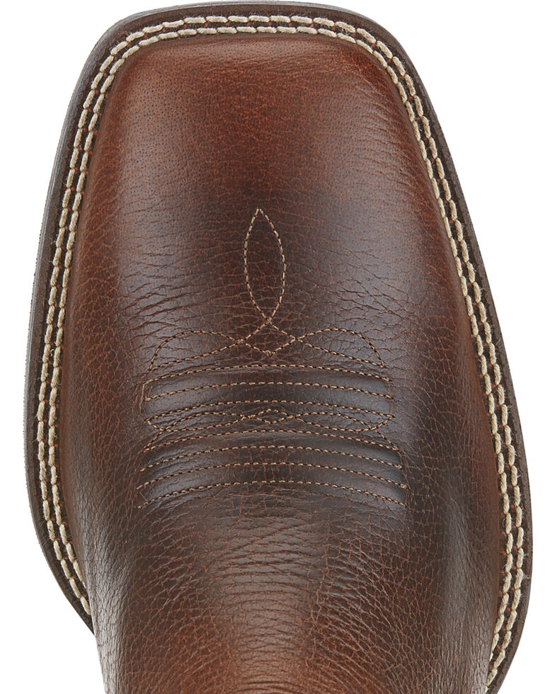 Ariat Men's Sport Outfitter Western Boots - Wide Square Toe, Brown, hi-res