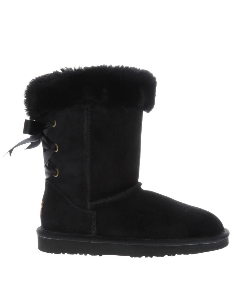 Lamo Footwear Women's Audrey Black Winter Boots - Round Toe, Black, hi-res