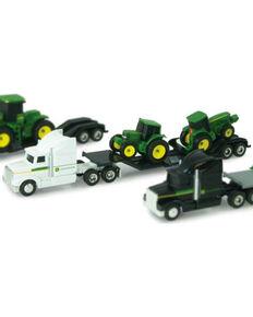 John Deere Kid's Hauler Semi & Tractors Toy, No Color, hi-res