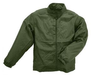 5.11 Tactical Men's Packable Jacket, Green, hi-res