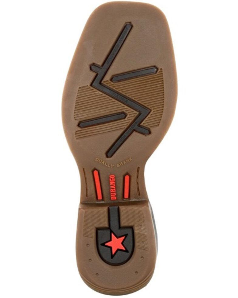 Durango Boys' Lil Rebel Pro Brown Western Boots - Square Toe, Dark Brown, hi-res
