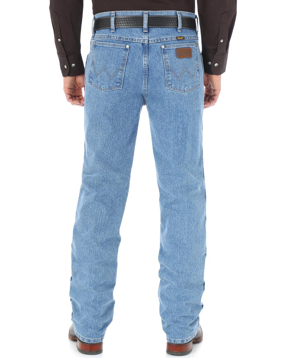 Wrangler Men's Cool Vantage Premium Performance Cowboy Cut Slim Fit Jeans - Big & Tall, Light Stone, hi-res