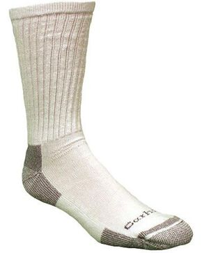 Carhartt All Season Cotton Crew Work Socks, White, hi-res