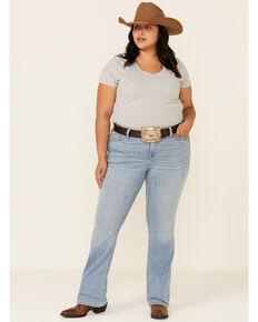 Ariat Women's Vivian Bootcut Jeans - Plus, Blue, hi-res