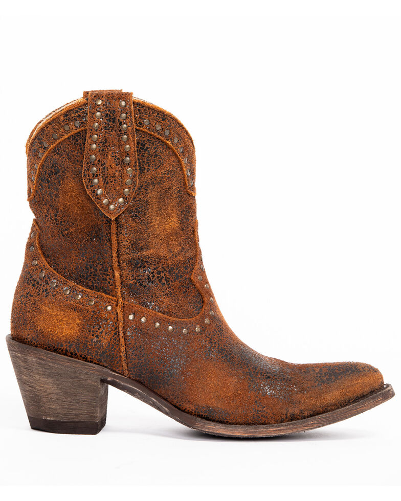 Idyllwind Women's Two Step Western Booties - Medium Toe, Rust Copper, hi-res