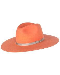 Rodeo King K9 Coral Tracker Fur Felt Hat , Coral, hi-res