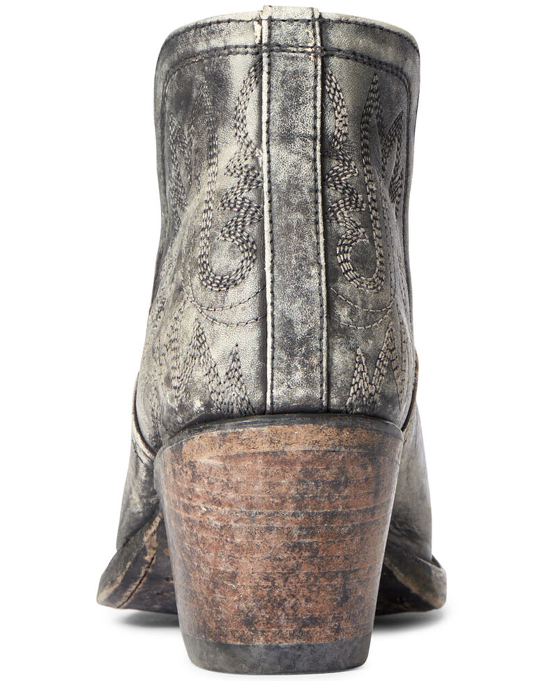 Ariat Women's Dixon Sueded Fashion Booties - Snip Toe, Black, hi-res