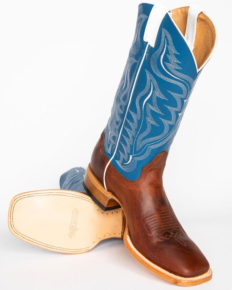 Cody James Men's Stockman Cowboy Boots - Wide Square Toe, Copper, hi-res