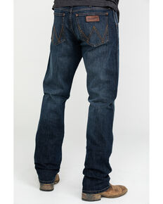 Wrangler Retro Men's Barrick Slim Straight Jeans , Blue, hi-res