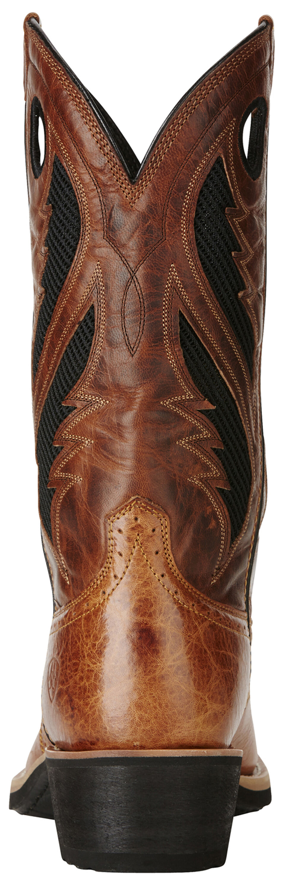Ariat Tan Men's VentTEK Heritage Roughstock Boots - Square Toe, Tan, hi-res