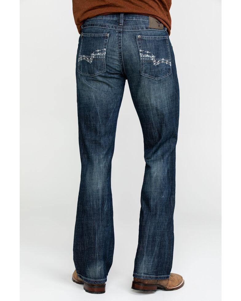 Wrangler 20X Men's No. 42 Kingston Vintage Slim Boot Jeans , Indigo, hi-res