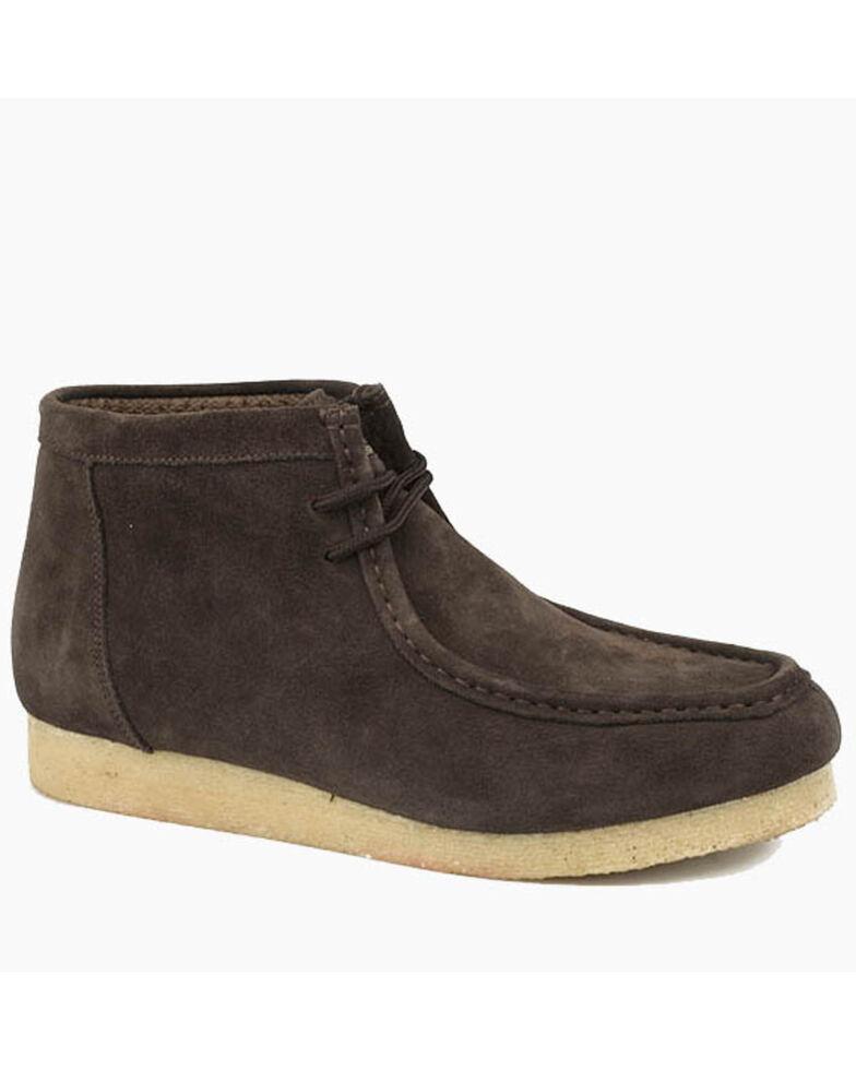Roper Men's Gum Sticker Brown Shoes, Brown, hi-res