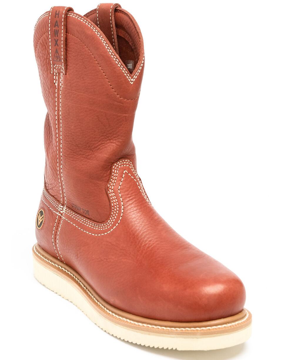 Hawx® Men's Puncture Resisting Work Boots - Composite Toe, Red, hi-res