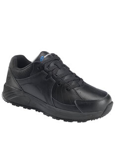 Nautilus Women's Black Skidbuster Work Shoes - Soft Toe, Black, hi-res