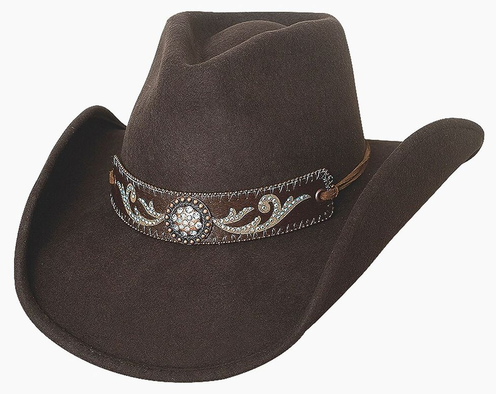 Bullhide Hangin  Out Brown Wool Cowgirl Hat - Country Outfitter d81e64400a2