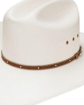 Stetson Men's Stanhope Straw Hat, Natural, hi-res
