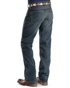 "Wrangler Retro Slim Fit Boot Cut Jeans - 38"" Inseam, Med Wash, hi-res"