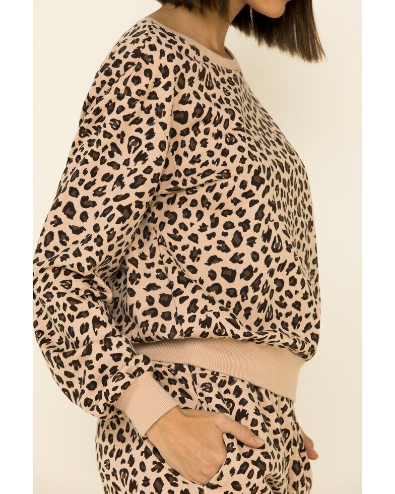 Velvet Heart Women's Multi Leopard Print Sweatshirt , Multi, hi-res