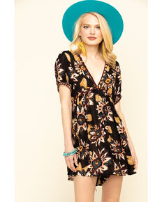 Free People Women's On The Edge Dress, Black, hi-res
