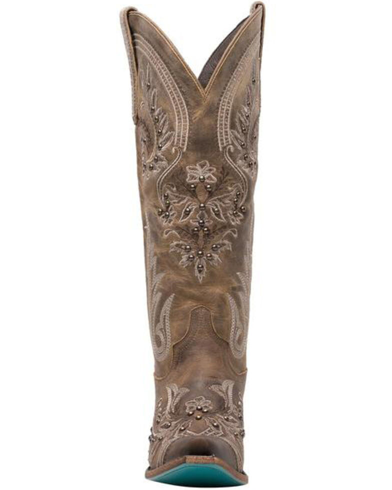 Lane Women's Santorini Western Boots - Snip Toe, Brown, hi-res