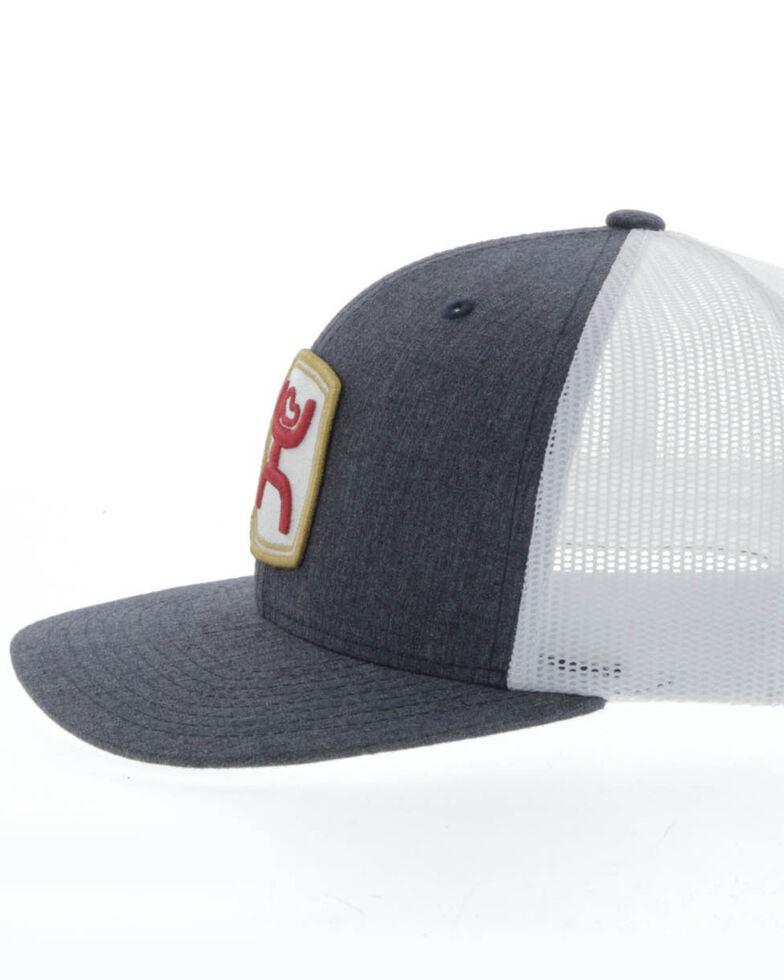HOOey Men's Grey Zenith Mesh Ball Cap , Grey, hi-res
