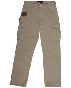 Wrangler Riggs Men's Bark Advanced Comfort Ranger Work Pants, Bark, hi-res