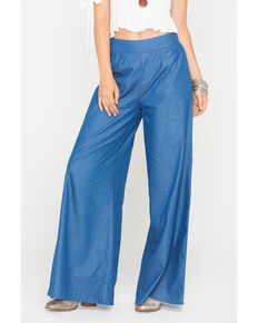 Sage the Label Women's Indigo Untamed Hearts Pants , Indigo, hi-res